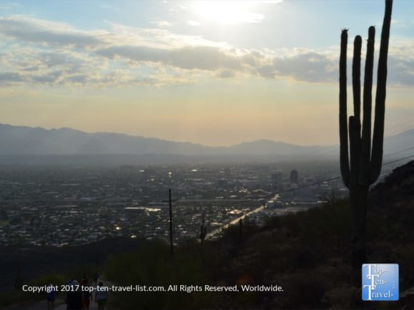 Sunrise Scenery Tumanoc Hill In Tucson